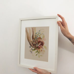 LEVO FLORES (ART PRINT)