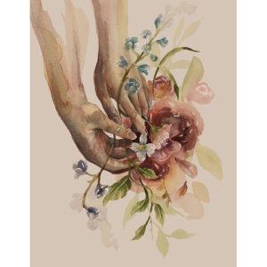 levo flores – art print