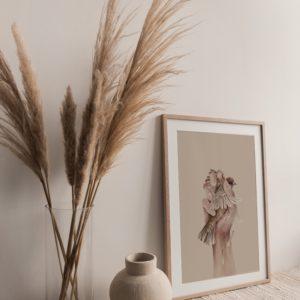 gaiola – art print