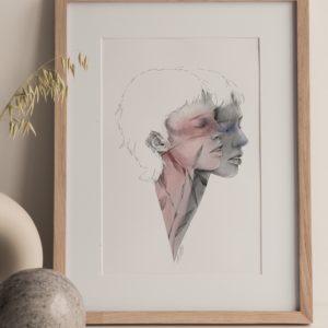 double – art print