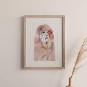 away – art print