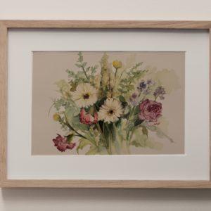 bouquet – art print