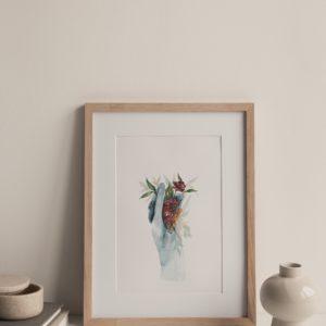 enfloramento – art print