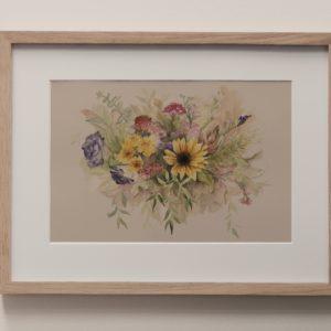 bouquet II – art print