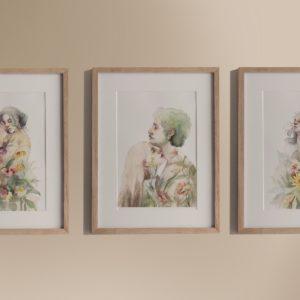 dressed to bloom  – art print set
