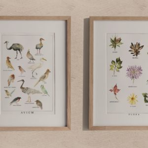 natura  – art print set