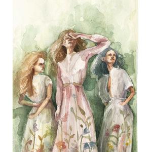 trio – art print