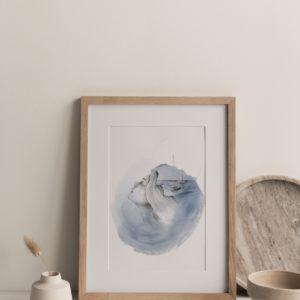 we are ocean – art print