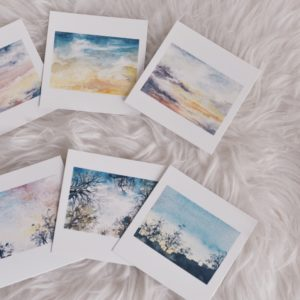 da janela – art print set